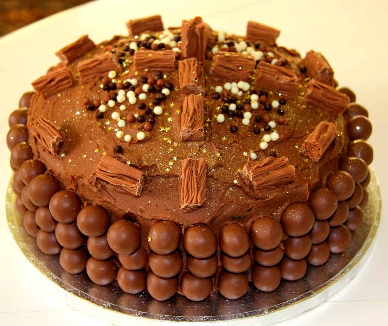 Chocolate Cake Wishes Images
