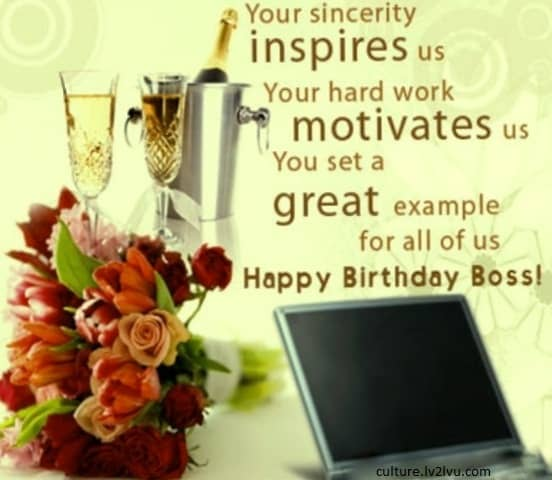 Happy Birthday Boss Quotes. QuotesGram