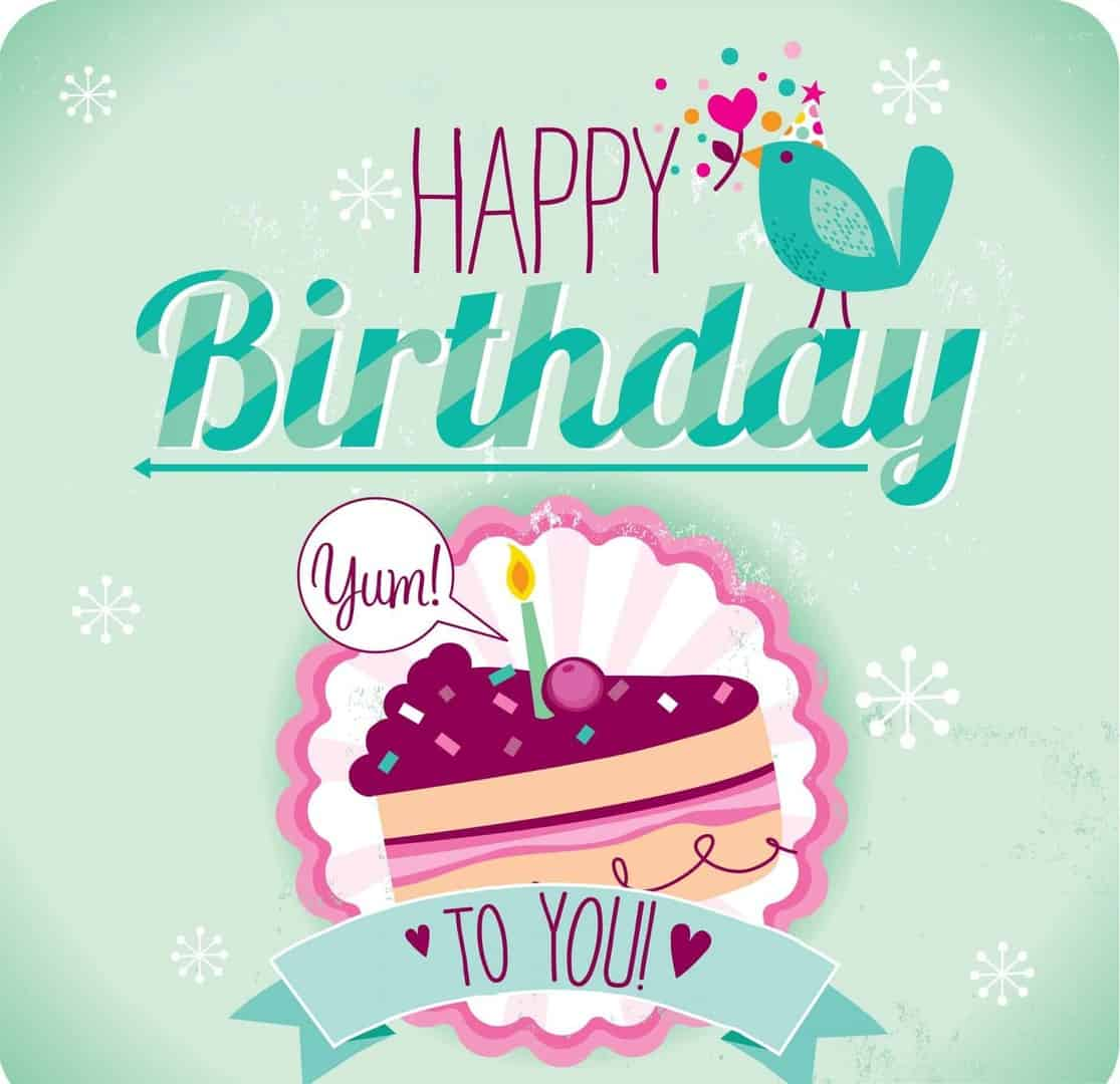 Simple Eye Catching Birthday Wishes Card