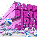 Artistic Birthday Wish!