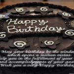 Chocolate Birthday Cake!
