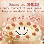 Smile! Happy Birthday to You :)