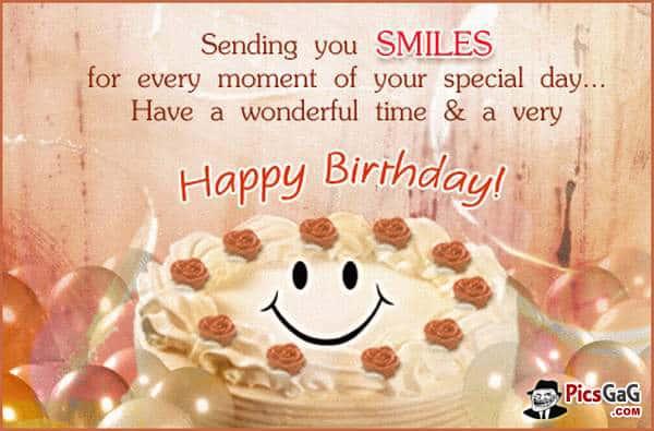 Exclusive happy birthday wish image