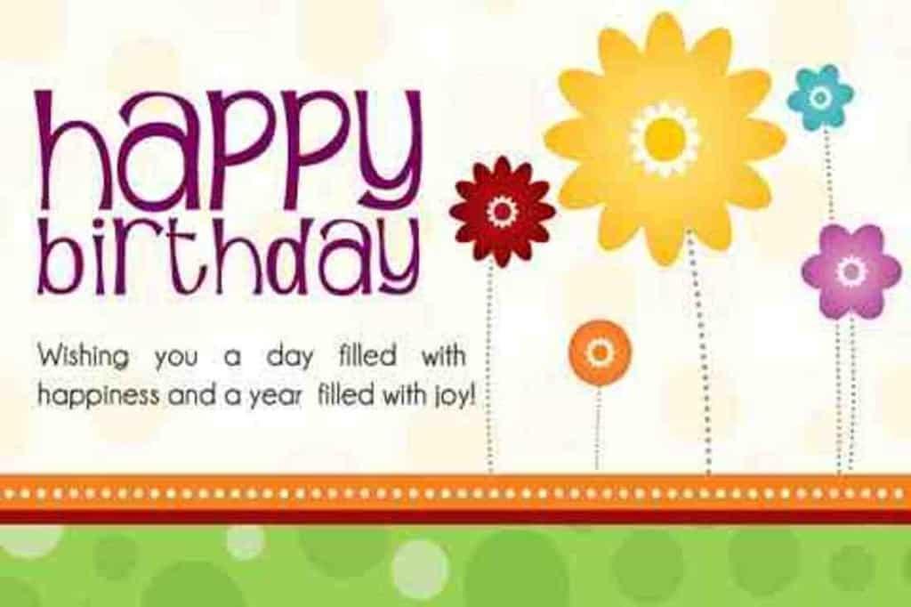 Happy Flowery Birthday ♥