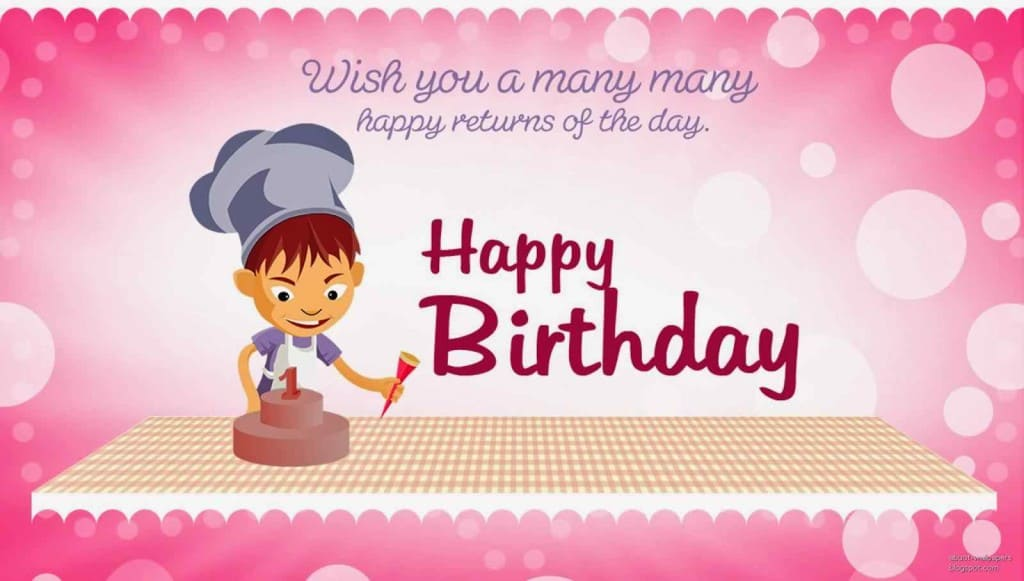 Wish you many many happy returns of the day. ♥