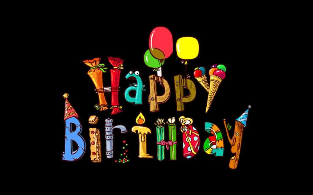 Black and shine Birthday