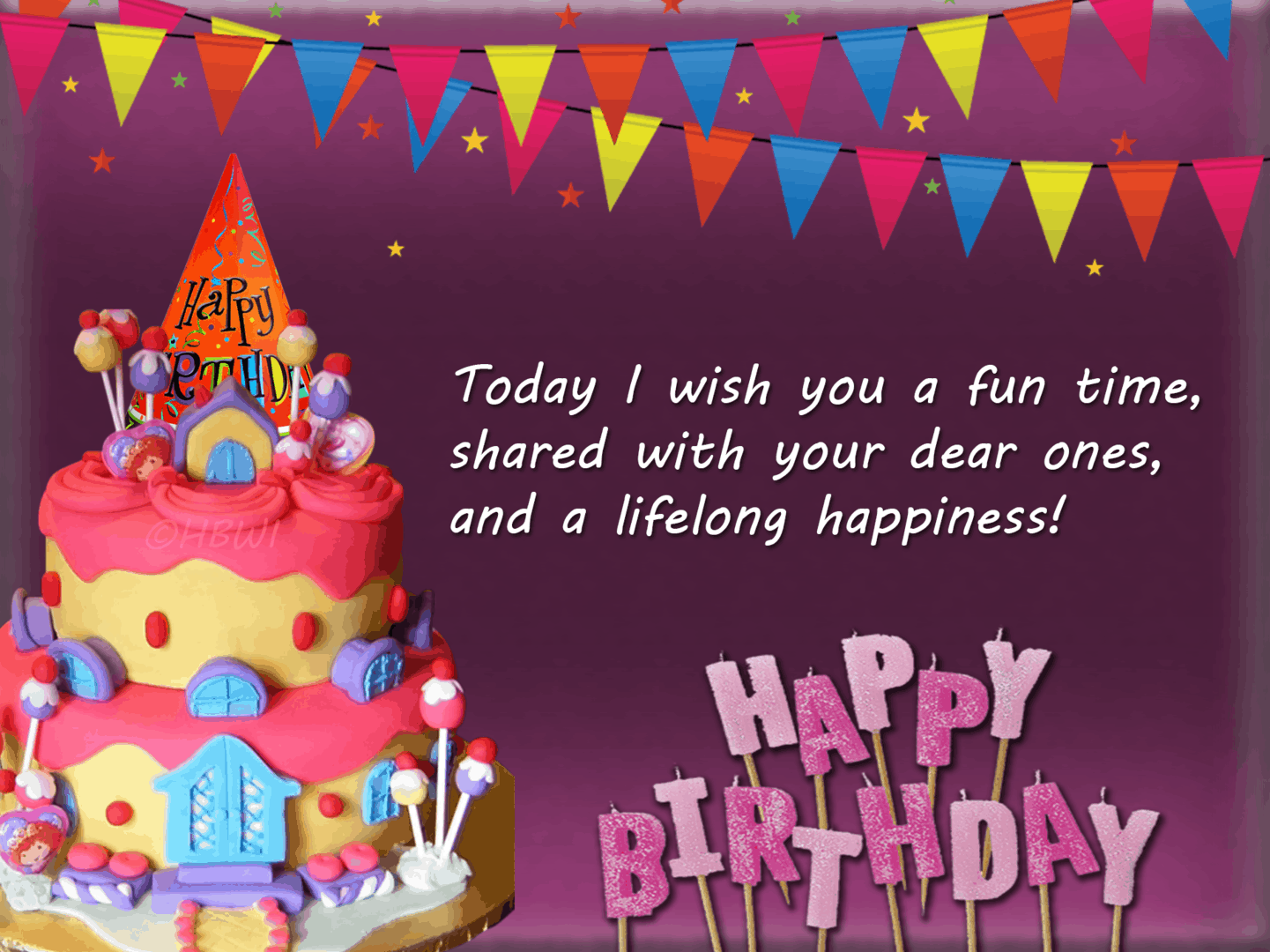 Funny Birthday wish.
