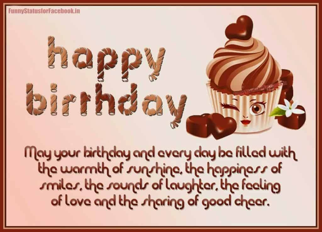 Lovely funny birthday Wish.
