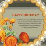 Happy Birthday to elder one