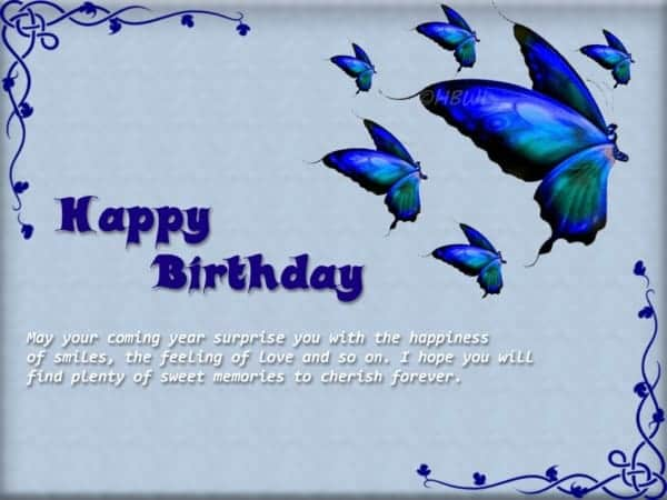 Wish all living butterfly happy birthday to you